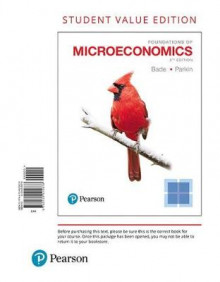 Foundations of Microeconomics, Student Value Edition av Robin Bade og Michael Parkin (Perm)