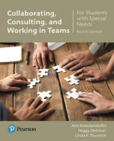 Omslag - Collaborating, Consulting and Working in Teams for Students with Special Needs with Enhanced Pearson Etext -- Access Card Package