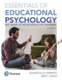 Essentials of Educational Psychology av Jeanne Ellis Ormrod og Brett Jones (Blandet mediaprodukt)