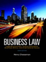 Omslag - Business Law Plus Mybusinesslawlab with Pearson Etext -- Access Card Package (1-Semester)