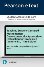 Teaching Student-Centered Mathematics av Jennifer Bay-Williams, Karen Karp, LouAnn Lovin og John Van de Walle (Diverse trykk)