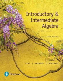 Introductory and Intermediate Algebra Plus Pearson Mylabs Math with Pearson Etext -- Access Card Package av Margaret L Lial, John Hornsby og Terry McGinnis (Blandet mediaprodukt)