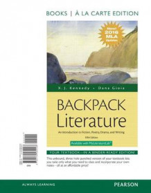 Backpack Literature av Mr X J Kennedy og Dana Gioia (Perm)
