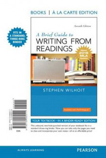 A Brief Guide to Writing from Readings, Books a la Carte Edition, MLA Update Edition av Stephen Wilhoit (Perm)
