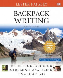 Backpack Writing, MLA Update Edition av Professor Lester Faigley (Heftet)