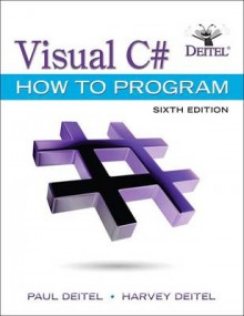 Visual C# How to Program av Paul Deitel og Harvey Deitel (Heftet)