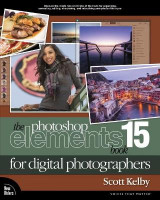 Omslag - The Photoshop Elements 15 Book for Digital Photographers
