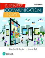 Omslag - Business Communication Today, Student Value Edition Plus Mylab Business Communication with Pearson Etext -- Access Card Package