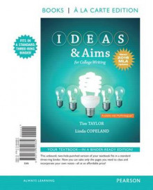 Ideas & Aims for College Writing, Books a la Carte Edition, MLA Update av Tim Taylor og Linda Copeland (Perm)