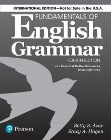 Fundamentals of English Grammar 4e Student Book with Essential Online Resources, International Edition av Betty S Azar og Stacy A. Hagen (Heftet)