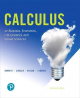 Omslag - Calculus for Business, Economics, Life Sciences, and Social Sciences