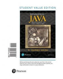 Introduction to Java Programming and Data Structures, Comprehensive Version av Y Daniel Liang (Perm)