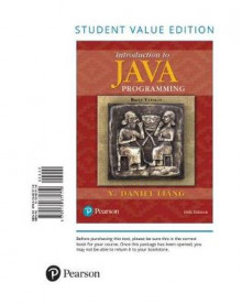 Introduction to Java Programming, Brief Version av Y Daniel Liang (Perm)
