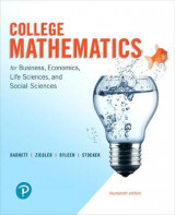 Omslag - College Mathematics for Business, Economics, Life Sciences, and Social Sciences