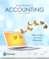 Omslag - Horngren's Accounting Plus Myaccountinglab with Pearson Etext -- Access Card Package