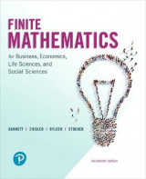 Omslag - Finite Mathematics for Business, Economics, Life Sciences, and Social Sciences