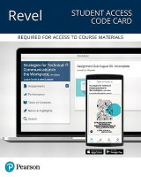 Omslag - Revel for Strategies for Technical Communication in the Workplace -- Access Card
