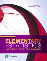Omslag - Elementary Statistics Using the TI-83/84 Plus Calculator