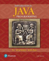 Omslag - Introduction to Java Programming, Brief Version