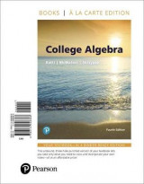 Omslag - College Algebra, Books a la Carte Edition