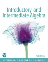 Omslag - Introductory and Intermediate Algebra, Books a la Carte Edition