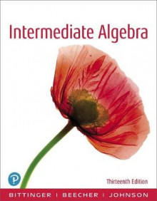 Intermediate Algebra, Books a la Carte Edition av Marvin L Bittinger, Judith A Beecher og Barbara L Johnson (Perm)