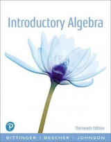 Omslag - Introductory Algebra, Books a la Carte Edition