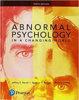 Omslag - Abnormal Psychology in a Changing World Plus New Mylab Psychology with Pearson Etext -- Access Card Package