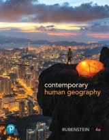 Omslag - Contemporary Human Geography Plus Mastering Geography with Pearson Etext -- Access Card Package