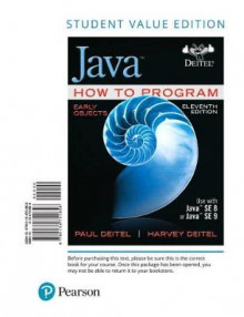 Java How to Program, Early Objects av Paul Deitel og Harvey Deitel (Perm)