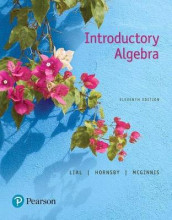 Mylab Math with Pearson Etext -- 24 Month Standalone Access Card -- For Introductory Algebra av John Hornsby, Marge Lial og Terry McGinnis (Blandet mediaprodukt)