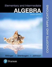 Elementary and Intermediate Algebra av Marvin L Bittinger (Blandet mediaprodukt)