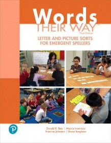 Words Their Way Letter and Picture Sorts for Emergent Spellers av Donald Bear, Marcia Invernizzi, Francine Johnston og Shane Templeton (Heftet)