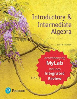 Omslag - Introductory & Intermediate Algebra with Integrated Review with Worksheets Plus Mymathlab -- Title-Specific Access Card Package