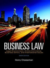 Omslag - Business Law Plus 2017 Myblawlab with Pearson Etext -- Access Card Package