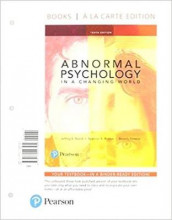 Abnormal Psychology in a Changing World, Books a la Carte Edition Plus Mylab Psychology with Pearson Etext -- Access Card Package av Dr Beverly Greene, Jeffrey S Nevid og Spencer a Rathus (Blandet mediaprodukt)
