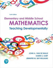Elementary and Middle School Mathematics av Jennifer Bay-Williams, Karen Karp og John Van de Walle (Blandet mediaprodukt)