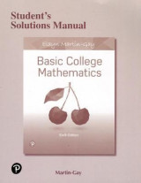 Omslag - Student's Solutions Manual for Basic College Mathematics