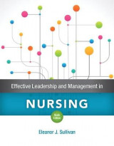 Omslag - Effective Leadership and Management in Nursing Plus Mylab Nursing with Pearson Etext -- Access Card Package