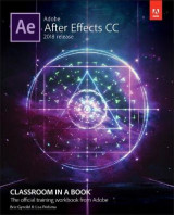 Omslag - Adobe After Effects CC Classroom in a Book (2018 release)