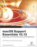 Omslag - macOS Support Essentials 10.13 - Apple Pro Training Series