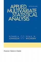 Omslag - Applied Multivariate Statistical Analysis (Classic Version)