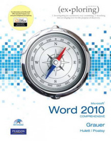 Exploring Microsoft Office Word 2010 Comprehensive av Robert T. Grauer, Mary Anne Poatsy, Michelle Hulett og Lynn Hogan (Heftet)