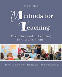 Methods for Teaching av David A. Jacobsen, Victor L. Dupuis og Don Kauchak (Heftet)
