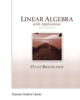 Omslag - Linear Algebra with Applications (Classic Version)