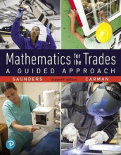 Mathematics for the Trades Plus Mylab Math -- 24 Month Title-Specific Access Card Package av Robert Carman og Hal Saunders (Blandet mediaprodukt)