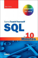 Omslag - SQL in 10 Minutes a Day, Sams Teach Yourself