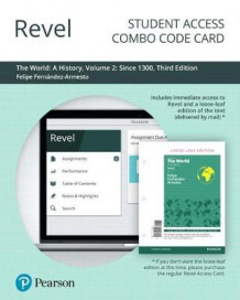 Revel for a World History, Volume 2 -- Combo Access Card av Felipe Fernandez-Armesto (Innbundet)