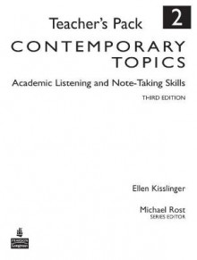 Contemporary Topics 2 av Ellen Kisslinger (Heftet)
