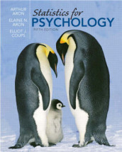 Statistics for Psychology av Arthur Aron, Elaine N. Aron, Cole Publishing og Elliot Coups (Innbundet)